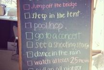 Summer Checklist / by Alexis Kiesel