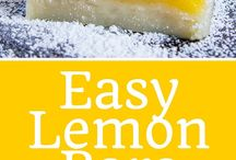 Easy lemon bars 5 ingredients