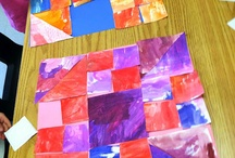 Quilting with Kids / Quilting is my hobby and I love passing my passion for quilts along to my children and the kids in my kindergarten classroom.