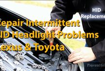 Lexus DIY Maintennce & Repair Videos / by Proven Helper Handy How-to's