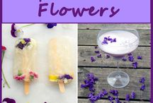 recipes with flowers