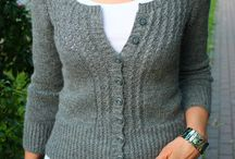 Cardigans Women / Knitted cardigans for women