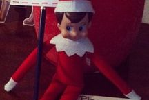 elf on shelf / by Brittany Barker