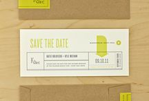 Save the Date design ideas