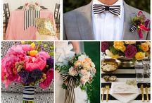 buat wedding 14januari pink stripes