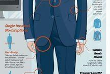 Męskie garnitury
