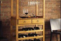 Decoração para vinhos