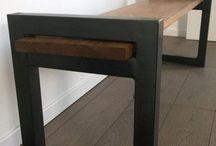 metal wood furniture