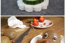zeleninové  ozdoby