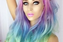 Colord hair crazy
