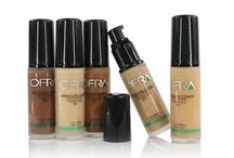 FOUNDATIONS FOR HEALTHY SKIN / Foundation serves as the base of your makeup application, but at OFRA Cosmetics, we think that foundation should help create healthy skin as you wear it! Our foundations showcase our ability to fuse makeup and skincare, with products that cover blemishes while reducing blemishes and strengthening your skin.   http://www.ofracosmetics.com/makeup.aspx
