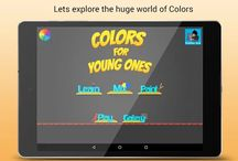 Color For Kids / Colours for Kids is one of the simplest educational games for toddlers and preschoolers. The app helps young children to learn names of colors and recognize different colours.