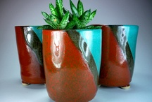 Stoneware pottery , earthenware, raku and porcelain / earthy things