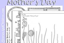 Mother's Day Activities / Mother's Day activities for kids to do for their mums. Gift ideas.