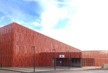architecture metal perforé