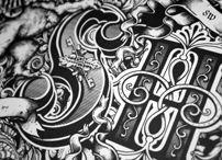 Typo / Calligraphy / typo, lettering, calligraphy