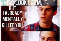 Dylan O'brien aka stiles