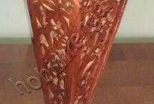 Ahşap Vazo - Wooden Vases
