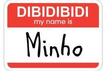 My name is Minho, dibidibidibs