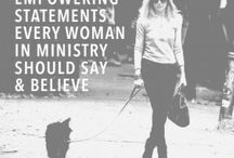 Women in Ministry / Resources, humor, and encouragement for women in ministry