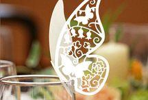 wedding inspiration - butterfly