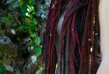 Purple / Purple Dreads