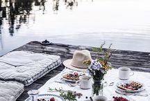 stolovanie, piknik