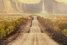 Roads anywhere, everywhere.