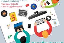 CleverAds tuyển dụng / Các vị trí CleverAds đang tìm kiếm những tài năng để phát triển thị trường cũng như doanh số.