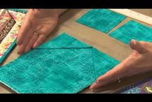 Finishing a Quilt / Tips and techniques for making a quilt sandwich, binding and labelling