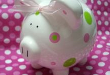 piggy banks / by Maggie Stewart