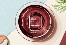 Material Crush - Marsala / Color of the Year 2015 by Pantone