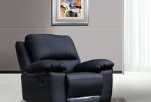 Bonded Leather Recliners / Our recliners have been designed perfectly to kick back, relax and put your feet up. From watching TV to napping, they're the ultimate in comfort.