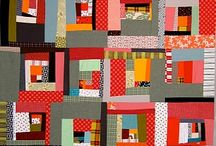 Quilts: Good old log cabin / by Colleen Esch