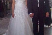 Novias #innovias / Los vestidos de novia de alta costura low cost de #innovias lucidos por algunas de nuestras novias