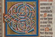 Miniatuur calligraphy