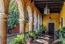 casas estilo mediterrâneos