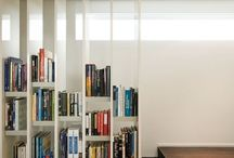 bookshelf as... / Displaying  books at home in a special customized way.