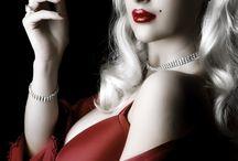 lady smokin