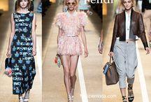 Fendi / Fendi collezione e catalogo primavera estate e autunno inverno abiti abbigliamento accessori scarpe borse sfilata donna.