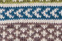 Knitting patterns - Jacquard