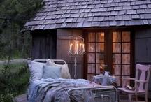Outdoor Bed & Sleeping Porch / by hana_babelic