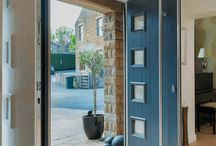 Doors / Composite, Bi-Fold, Stable and French Doors, available in uPVC, Timber, Aluminium and more.