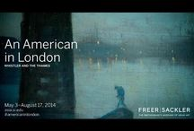 An American in London: Whistler and the Thames / This exhibition was on view May 3-August 17, 2014.   Experience the largest U.S. exhibition devoted to American artist James McNeill Whistler's early period in London. View more than 80 masterful oil paintings, prints, rarely seen drawings, watercolors, and pastels in the largest presentation of his work in almost 20 years. Together they reveal the transformation of London into a modern city and Whistler's emergence as one of the most innovative artists of the 19th century.
