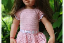 crochet-American Doll