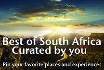 Best of South Africa / Let's show the World the beauty of South Africa. We invite you to pin your South Africa favorites. Leave a comment with a link to your Pinterest profile, and we'll add you as a collaborator to this board.  / by South African Airways