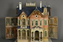 Antique Dolls Houses and Dolls / Pre WW2 Dolls Houses, Interiors, Dolls and Items.
