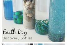 Preschool sensory bottles