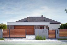 Nowoczesne ogrodzenia / Projekty, realizacje, inspiracje jak zagospodarować przestrzeń wokół domu.