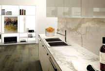 """ThinSlab Porcelain by Oregon Tile & Marble / Porcelain Slabs - Measuring 118"""" x 59"""" x 6mm, ThinSlab Porcelain is ideal for residential and commercial installations – kitchen counters, vanity tops, shower surrounds, floor & wall applications and cladding."""